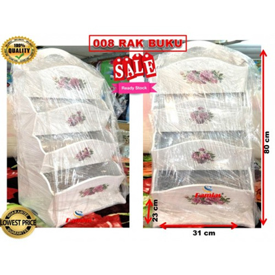 Qoo10 - Perabut Dan Hiasan Vantage 008 RAK BUKU   Furniture   Deco 9272d1a2fb