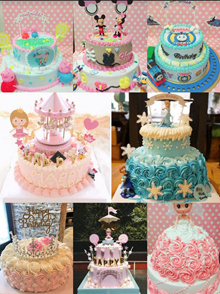 [Homemade Birthday Cake] make special order cakes for your own! Kids/Adult birthday cake for event