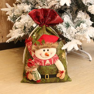 Christmas Gift Bags For Kids.Christmas Gift Bags Holders Small Santa Claus Gift Bag Kids Xmas Decoration Candy Bag Bauble Christm