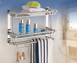 [ABG-HUB] Stainless Steel Bathroom Towel Hanger / Towel Hanger / Space Saving Organiser