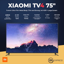 [New] Xiaomi Mi TV 4 [49/55/65/75 inch] | 4.9mm thin | ultra thin bezel