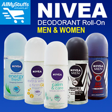 【NIVEA】Deodorant Roll-On● Men/Women●