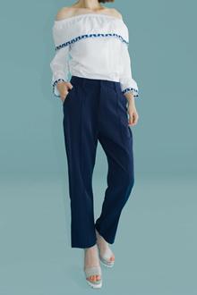 pinstripe baggy pants