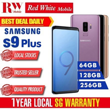 Samsung S9 Plus 128GB (Black Blue Red Purple and 256GB (Black Blue Purple) Local Warranty