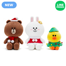 [LINEFRIENDS]SITTING DOLL_WINTER18_MEDIUM