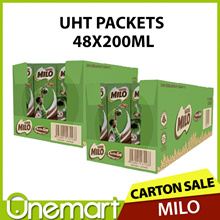 [NESTLE]  MILO ★ Carton Sale ★ ACTIVGO Drink Packs ★ 48 INDIVIDUAL PACKS ★ FRESH STOCK