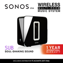 Sonos Sub Wireless Subwoofer (Exclusive Distributor 1 Year International Warranty)