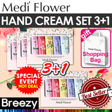 ★3+1★Gift idea [Medi Flower] (BUY3 GET1) 2018 new The Secret Garden Hand Cream Set