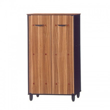 UB Furniture Simple 2D Sonama Oak Shoes Cabinet Closed Hall Cabinet Dust-Proof Shoes Rack Storage Ca