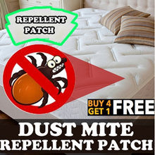 ★BUY 4 GET 1 FREE★DUST MITE MITES cleaner REPELLENT PATCH FROM KOREA Kills Bacteria
