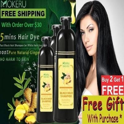 ce4f9900e7ba 💖Buy 1 or Buy 2 Free 1💖Free Loose Powder💖Ginger Black Dye
