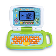 [In Stock] LeapFrog 2-in-1 LeapTop Touch Green and Pink