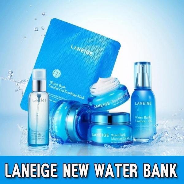 [LANEIGE] Water Bank Gel Soothing Mask / Eye Gel / Moisture Cream / Mineral Skin Mist / Essence Deals for only Rp295.000 instead of Rp295.000