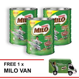 NESTLE MILO ACTIV-GO POWDER 1.5kg  Buy 3 Free 1 Milo Van