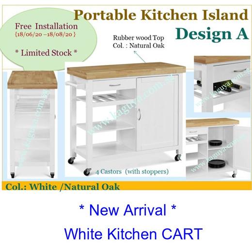 Qoo10 10 10 Mobile European Kitchen Cart Portable Kitchen Island Wooden K Furniture Deco