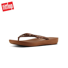Fitflop™ Iqushion Ergonomic Bronze Women Flip Flops