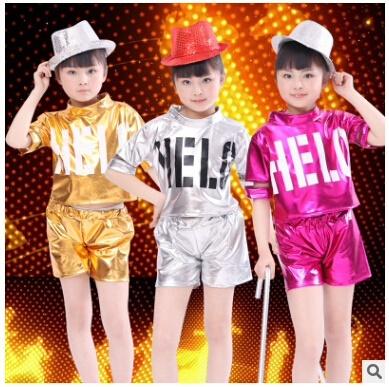 aeb9f2964 Qoo10 - Childrens Day Jazz Dance Sequin Costume New Primary School ...