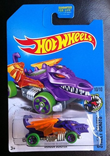 (Hot Wheels) Hot Wheels 2017 Street Beasts Dragon Blaster Purple (Treasure Hunt)-