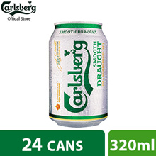 Carlsberg Smooth Draught Can 320ml ( Pack of 24 )