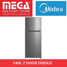 MIDEA MD-RT339WEDMX02 340L 2 DOOR FRIDGE / LOCAL WARRANTY
