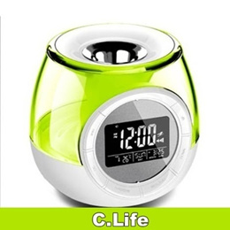 Aromatherapy Oil Heater/Diffuser with Digital Alarm Clock
