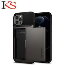 Spigen Slim Armor Wallet for iPhone 12/12 Pro