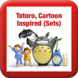 ◤Totoro n Cartoon Inspired in SETS◥ Mei ♡  Doraemon ♡ Hello Kitty ♡ Rilakkuma ♡ Cats ♡ Pokemon
