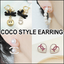 [LAURENCO] AUG New update!! 💎🌺Luxury elegant style Earring_Camellia / coco new style Earrings
