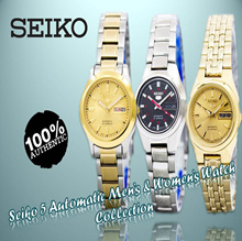 [CreationWatches] Brand New Seiko Mens And Womens Watch Collection | 100% Authentic
