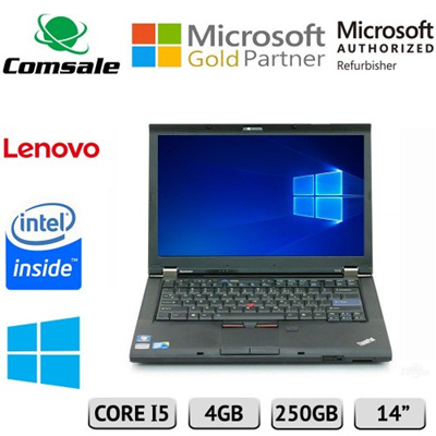 (Certified Refurbished)Lenovo ThinkPad T410 Laptop - Core i5 2 26ghz - 4GB  DDR3 - 250GB HDD - DVD-RO