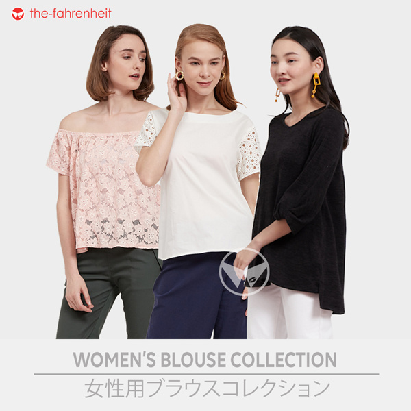 2019 NEW ARRIVAL EVERYDAY WEAR CASUAL_FORMAL BLOUSES FOR WOMEN 7 COLOURS 4 STYLES! Deals for only Rp42.000 instead of Rp65.625