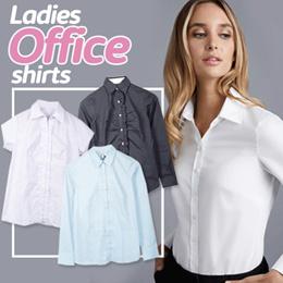 New Collection  Ladies Office Shirts/Kemeja Kantor/Kemeja Wanita /Kemeja Kasual