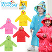 Funny Children RainCoat - Jas Hujan Anak - Kids Rain Coat