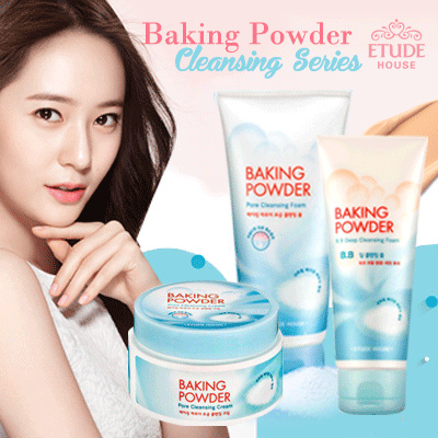 Sale! Baking Powder Pore Cleansing Series_Cleansing Foam_Cleansing Cream_Deep Cleansing Deals for only Rp99.000 instead of Rp99.000