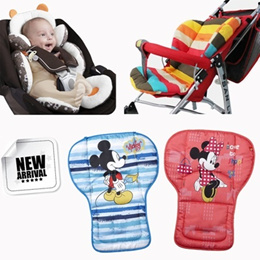 ★Baby stroller cushion★ suitable for car seat baby chair 5-point belt pad/body support/