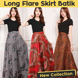 NEW ARRIVAL - WOMEN SKIRT COLLECTION - ROK LILIT BATIK