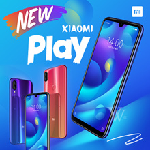 NEW xiaomi PLAY 5.84 inch 64GB/128GB with google play store installed
