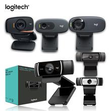 【Big Sale】Logitech Webcam C270 C525 C920 android tv box driver laptop camera 720P 1080P