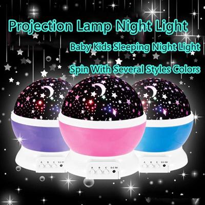 21605e677b7b Rotating Sky Cosmos Star Night Romantic Projector Luminous Light Lamp Child  Gift