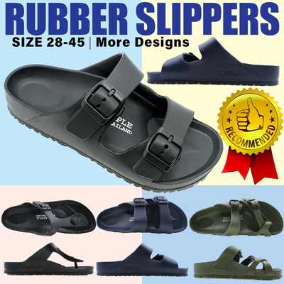 ?Everyday Rubber Slippers?Comfortable?WaterproofUnisex?Children? Deals for only S$59.9 instead of S$59.9