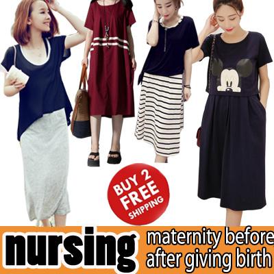 Buy 3 May New Nursing Wear Topbreastfeeding Dress Pantslarge