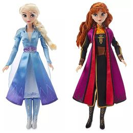 ★최저가★미국 디즈니 겨울왕국 2 클래식돌 노래하는 엘사 안나 11인치 인형