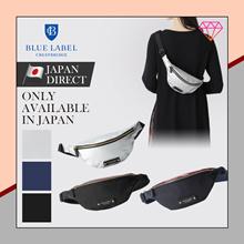 (Blue label crestbridge) Partial CREST BRIDGE CHECK nylon waist bag bag / NEW / 2020 / Japan direct