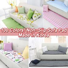 SOFA COVER★Cotton/Linen/100 COLORS Mutipurpose Pad KOREA★4 Person/3 Person/Couch Seat Mat