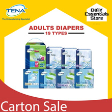 [Tape Value at $56.90 only][Lowest Price Guarantee] TENA Adult Diapers Carton Sale