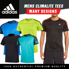 [100% AUTHENTIC] Adidas Mens Climalite Tees Series