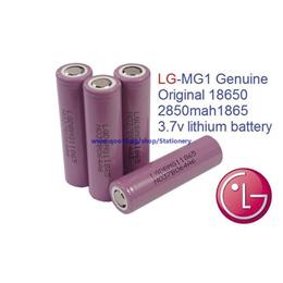 LG MG1 genuine original 18650 2850mah1865 3.7v lithium battery -10 nos