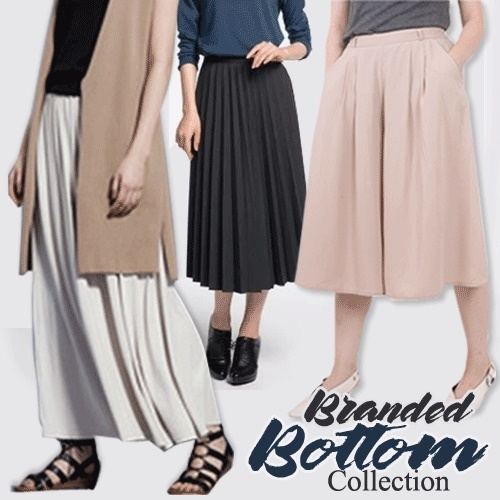 New Collection Women Skirts Cullotes- 6 Styles Deals for only Rp39.000 instead of Rp88.636