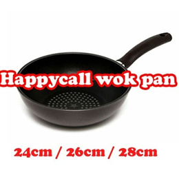 ★New Arrival★★Happycall Diamond Wok Pan★ 24cm / 26cm / 28cm (Registered / Given sweety)