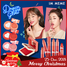 NEW★IM MEME★Im Multicube/Lip crayon Matt/Heart stamp blusher/Tic tock lipstick/makeup palette/eyesh